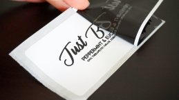 """#1004D, 2 x 4"""" white product labels"""